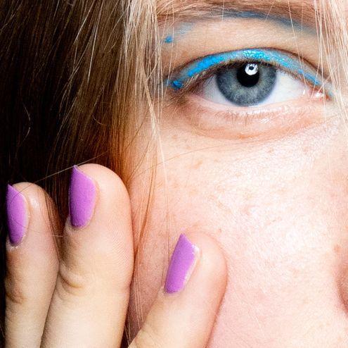 Face, Eyebrow, Skin, Nose, Eye, Close-up, Eyelash, Cheek, Head, Iris,