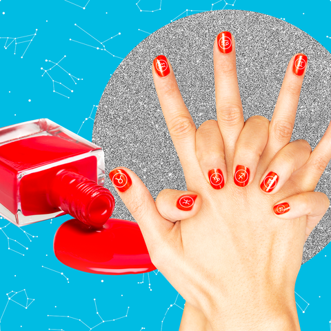 Finger, Red, Nail, Hand, Nail polish, Nail care, Manicure, Material property, Gesture, Cosmetics,