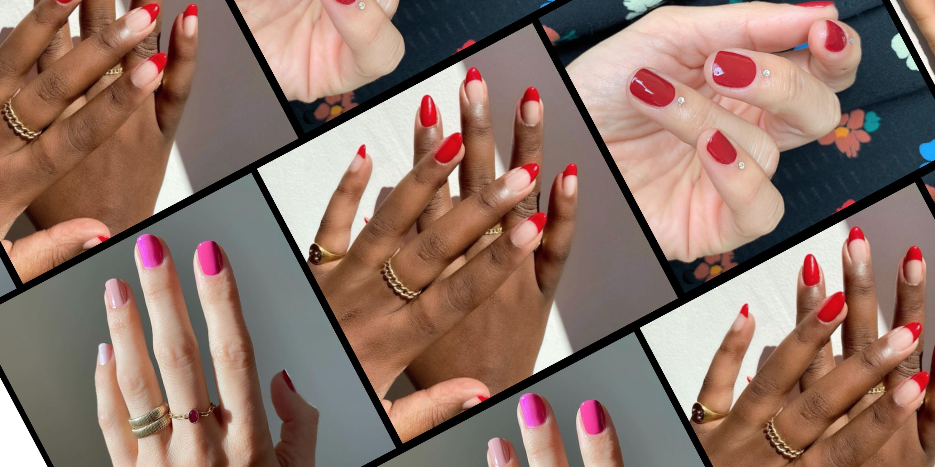 Valentine's Day Nail Art 25   Cute Manicure Ideas for V Day