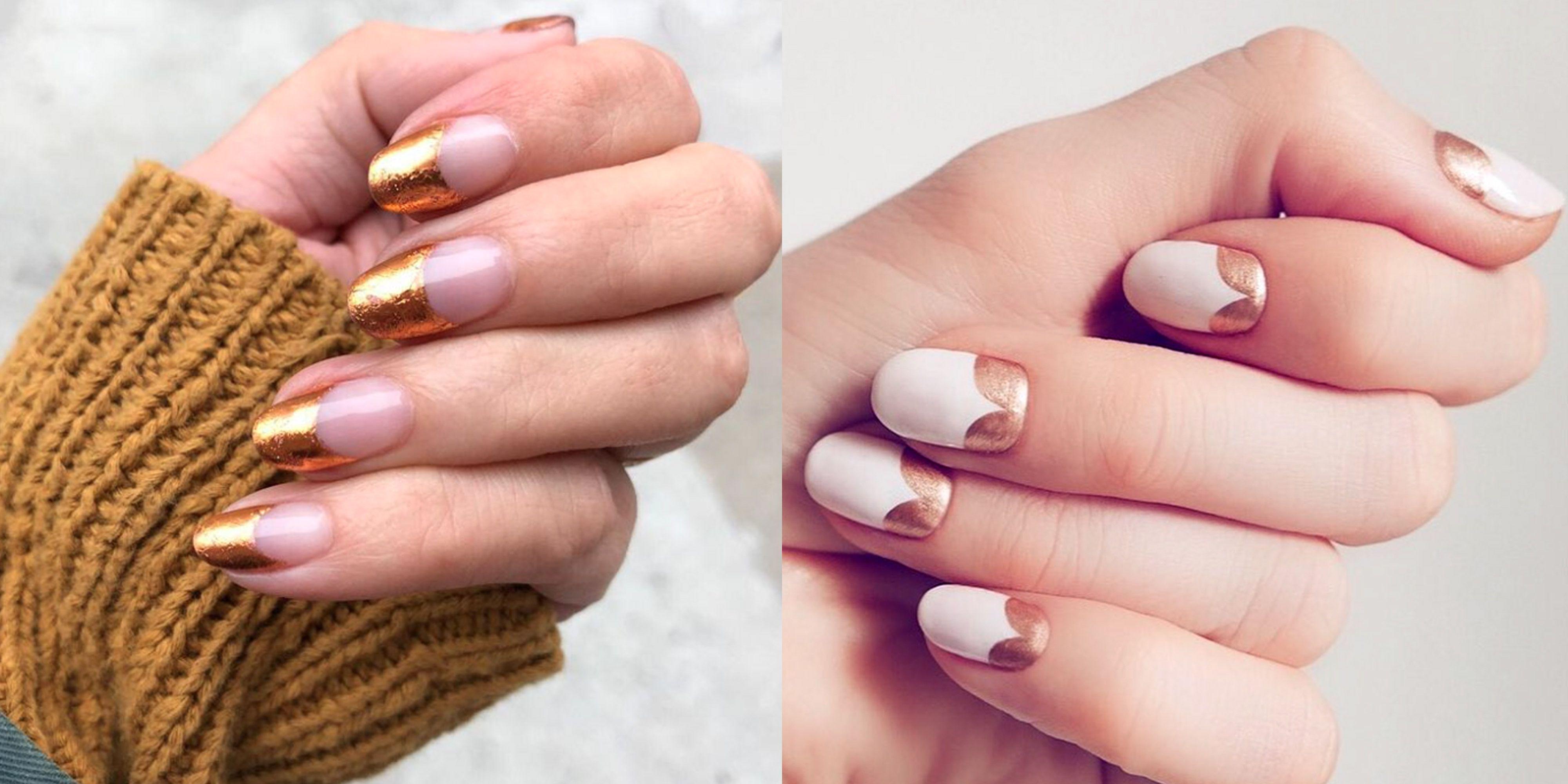 25 New Year's Eve Nail Art Ideas   Easy Nail Art Designs