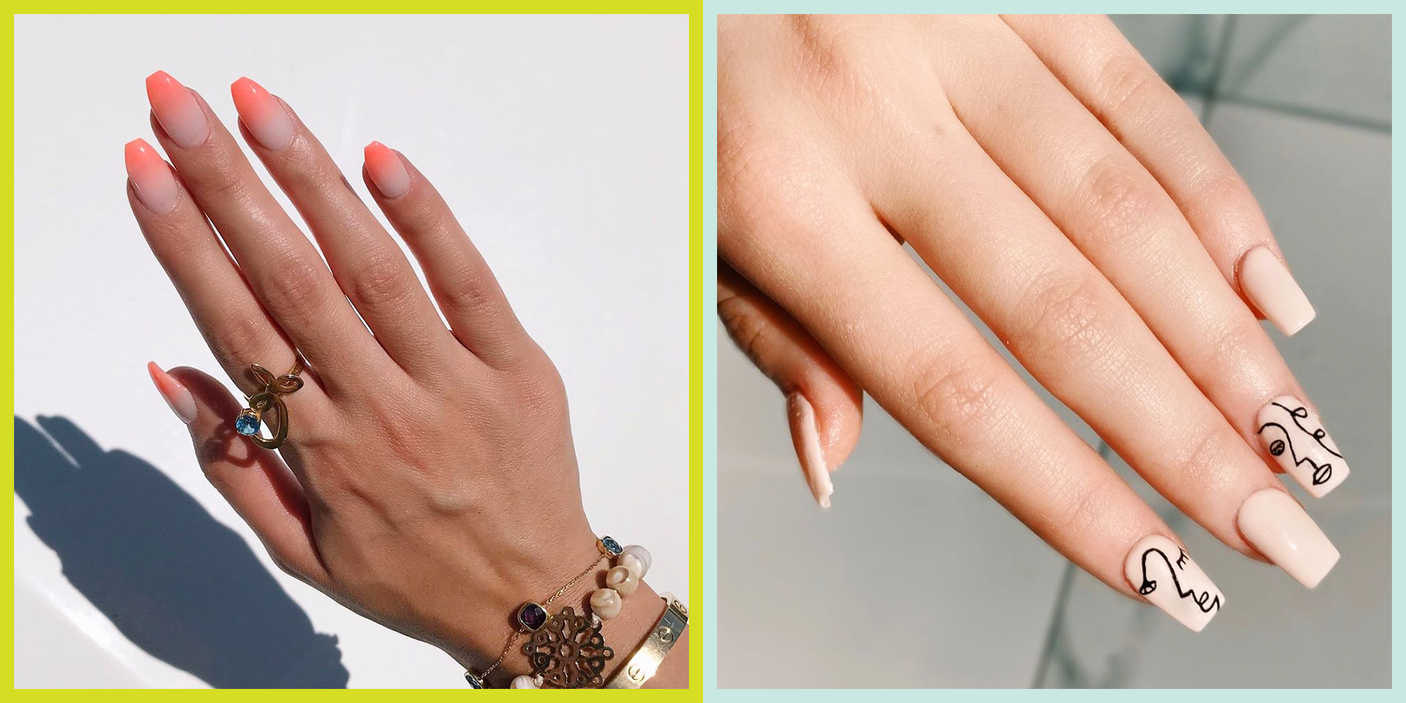 10 Square Nail Ideas and Designs to Copy ASAP