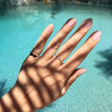 Finger, Hand, Nail, Skin, Leaf, Design, Pattern, Thumb, Gesture, Manicure,