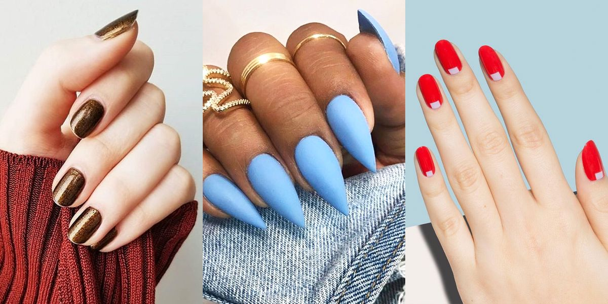 10 Best Nail Shapes of 2020 - What Nail Shape Is Best for ...