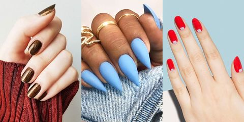 10 best nail shapes of 2020  what nail shape is best for