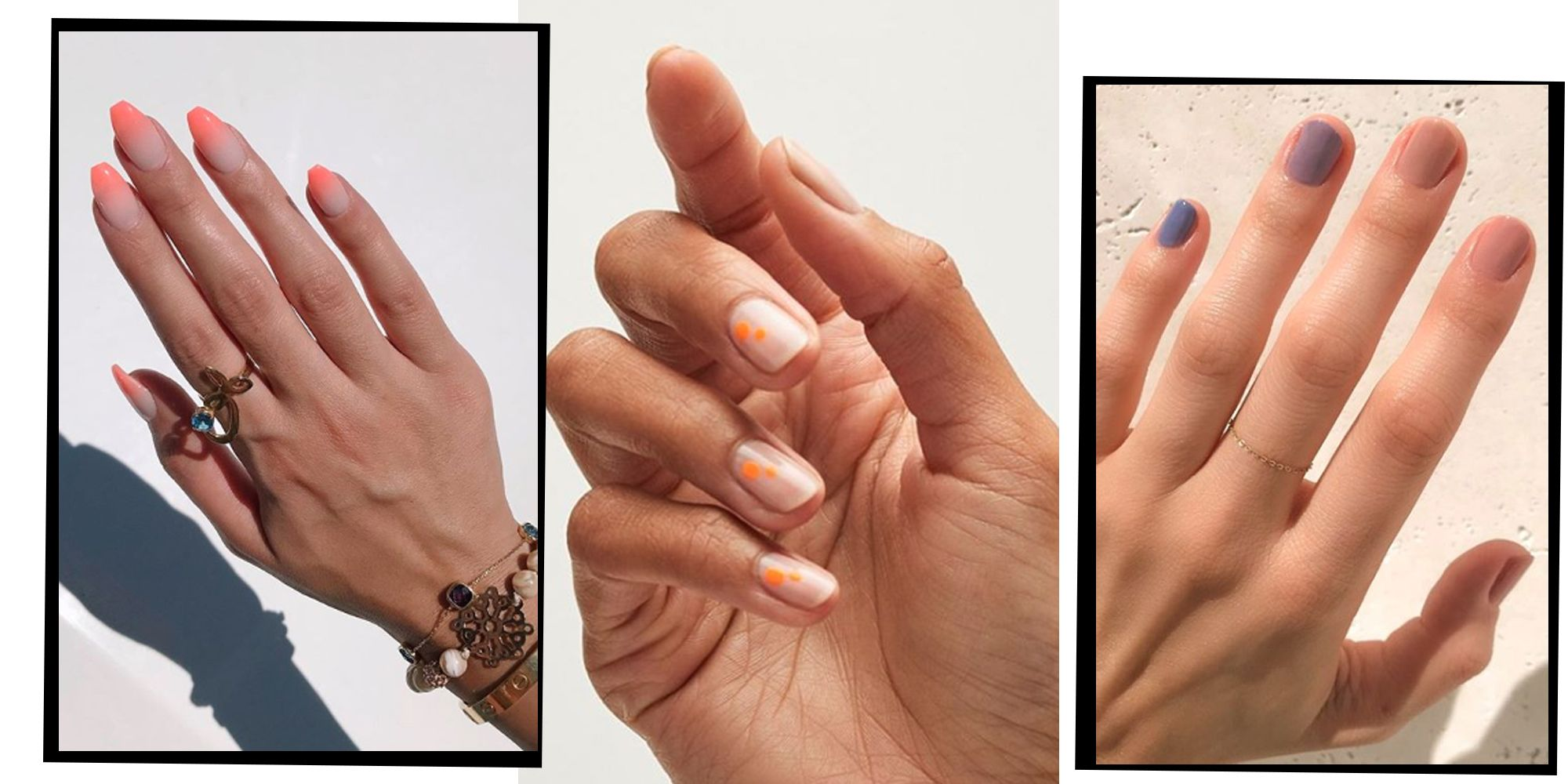 Nail Shapes - From Almond And Stiletto To Coffin And Oval