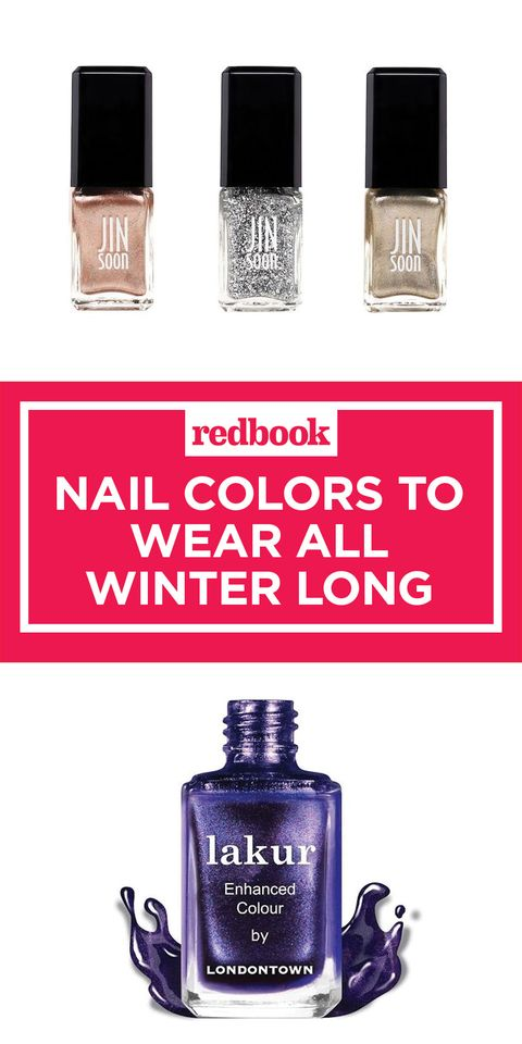 nail colors to wear all winter long