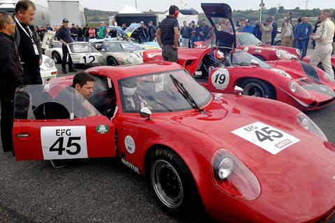Land vehicle, Vehicle, Car, Regularity rally, Sports car, Race car, Coupé, Classic car, Racing, Motorsport,