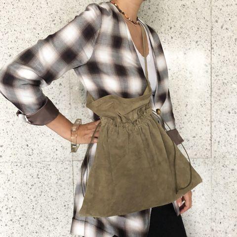 Clothing, Coat, Outerwear, Trench coat, Sleeve, Waist, Overcoat, Beige, Khaki, Plaid,