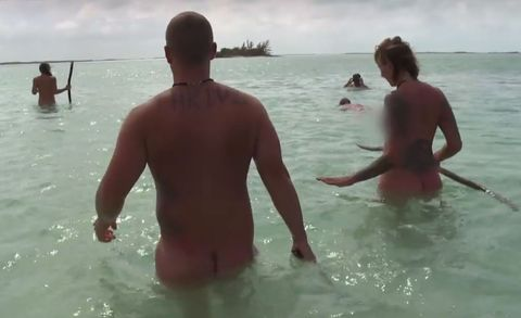 Naked and Afraid' and Shark Week Are Combining for 'Naked