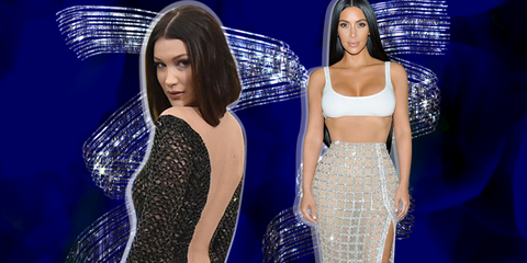 06040007fa 30 Naked Dresses From 2017 Red Carpets - Best Naked Looks of the Year