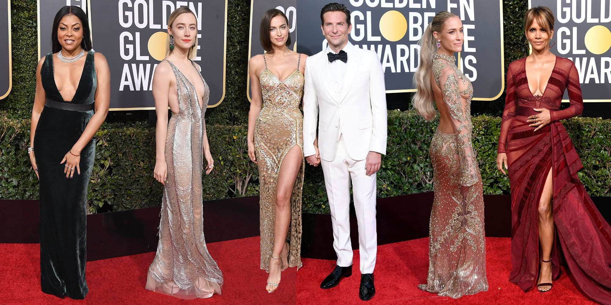 Golden Globes 2019: best naked dresses
