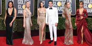 Golden Globes 2019: best naked dresses
