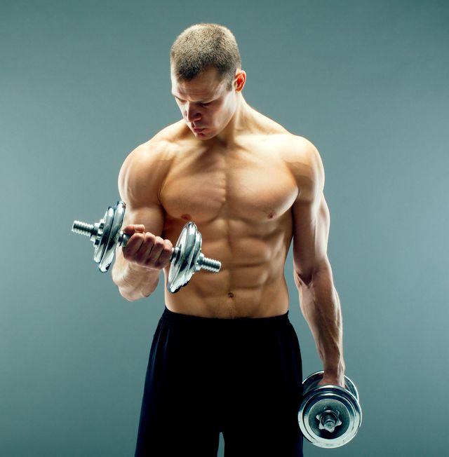entrenamiento fitness de brazos