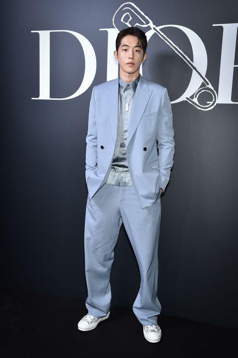 dior homme  photocall   paris fashion week   menswear fw 2020 2021