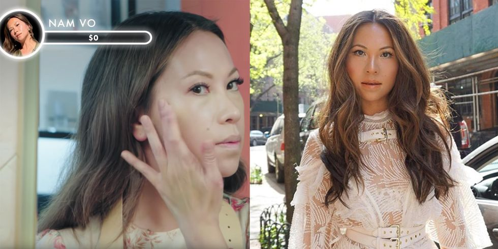 How Celeb Makeup Artist Nam Vo Does All Natural Beauty