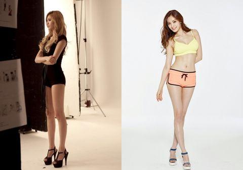 全都是韓國女生的「wanna be」!5位身材爆表的韓星,看完絕對雞起你的減肥慾!