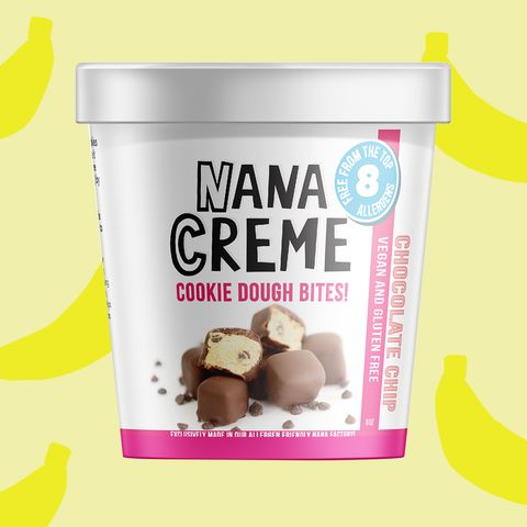 Nane Creme vegan banana ice cream bites