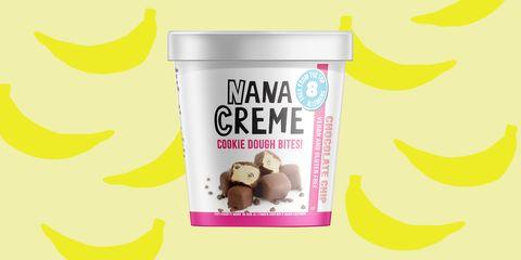 Nane Creme vegan banana ice cream bites