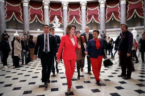 Nancy Pelosi Jabbed the President* Right in His Tender Ego