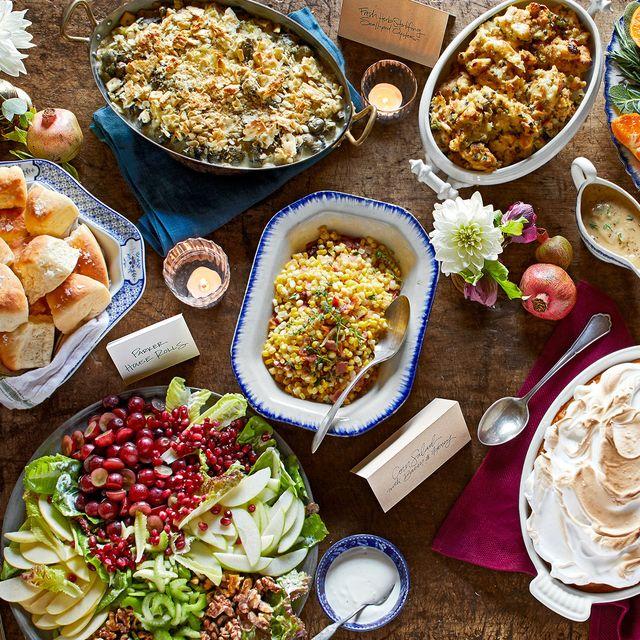 nancy fuller's thanksgiving table