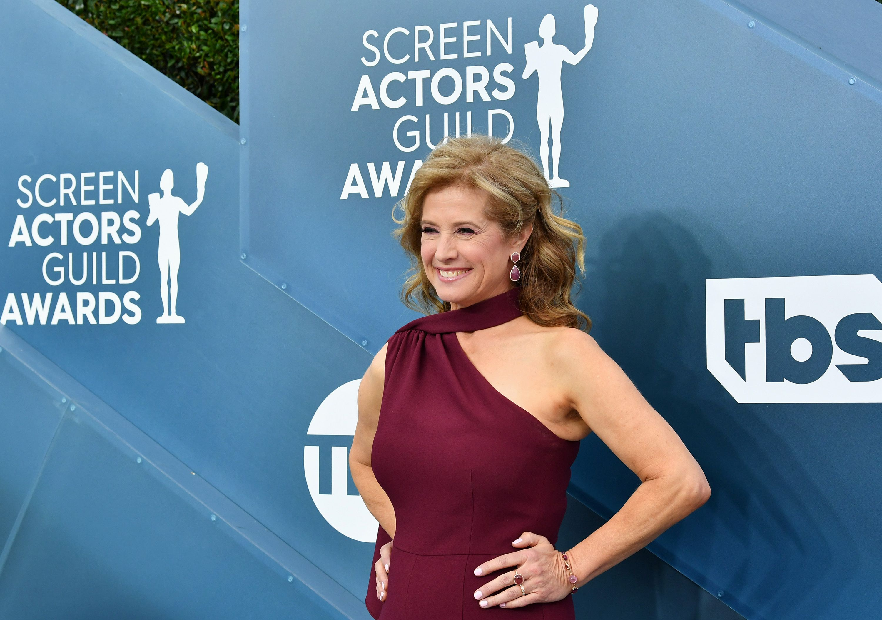 'Last Man Standing' Star Nancy Travis Wore a Jumpsuit With a Bold Slit