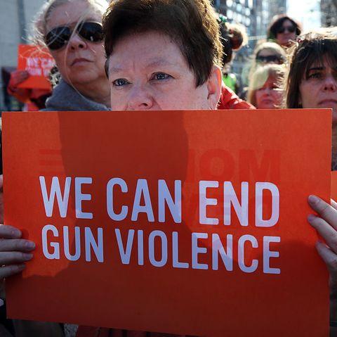 Moms Demand Action For Gun Sense In America's Boston Orange Walk