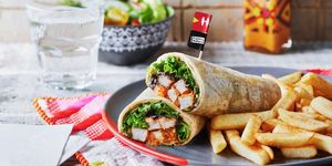 Nando's have launched a new wrap and it sounds messy