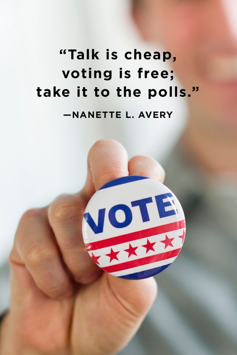 Nanette Avery Voting Quotes