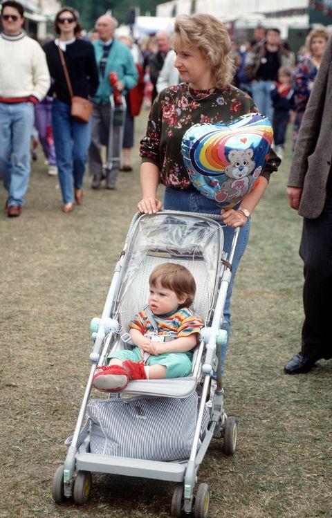princess eugenie with nanny