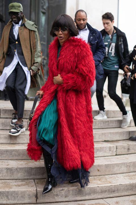 d3439ed6c30e image. Getty Images. Naomi Campbell at Paris Fashion Week