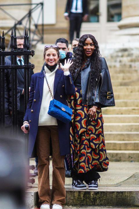 celebrity sightings in paris  january 27 2021