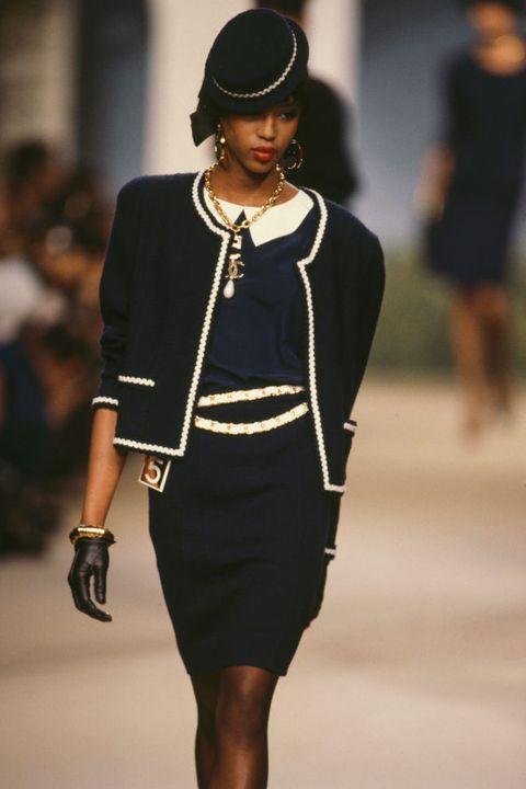 Naomi Campbell first runway show
