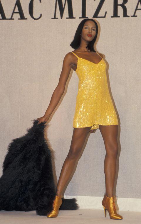 fall fashion week fashion by isaac mizrahi april 12, 1994