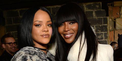 Rihanna, Naomi Campbell