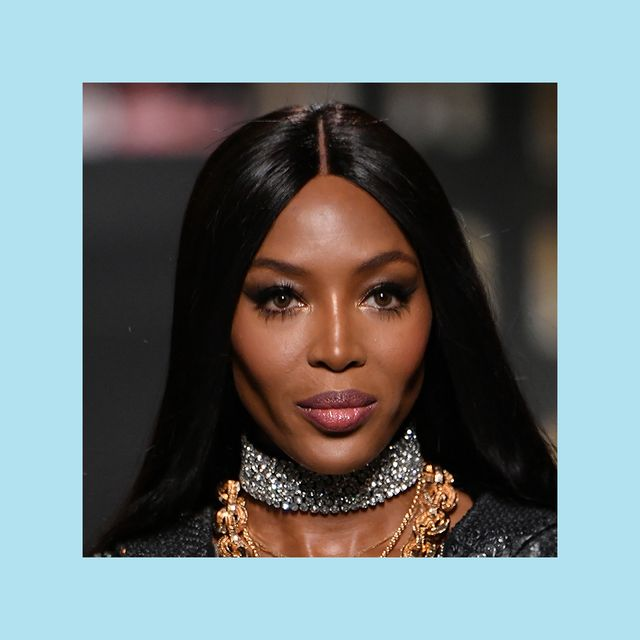 naomi campbell on the moschino x hm runway 2018