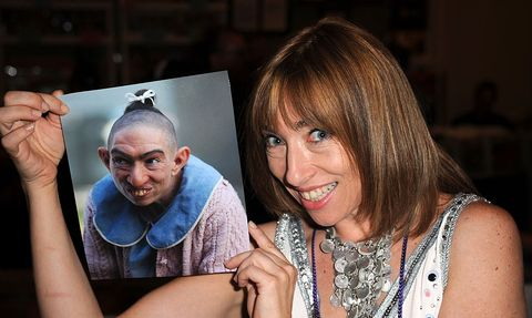 los angeles, ca   july 13  actress naomi grossman participates in the hollywood show held at westin lax hotel on july 13, 2013 in los angeles, california  photo by albert l ortegagetty images
