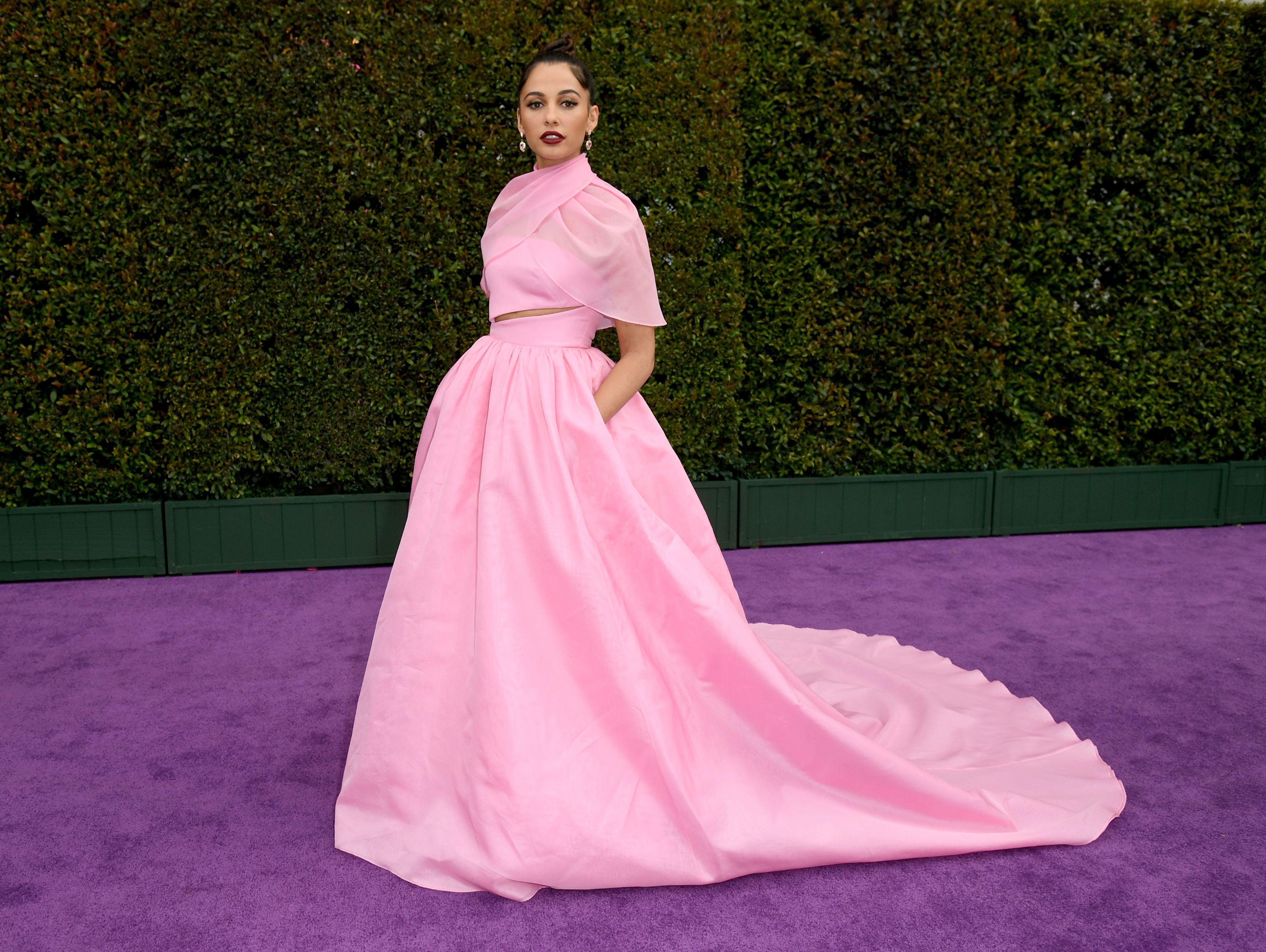 Naomi Scott Has Nailed the Modern Princess Aesthetic on Her 'Aladdin' Press Tour