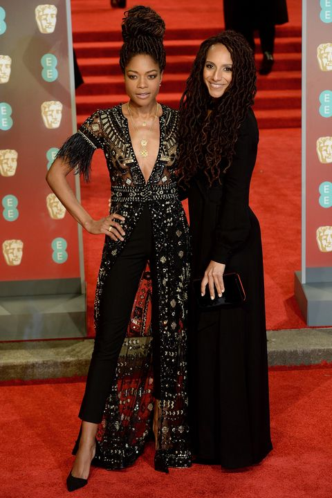 Baftas red carpet - activists and leaders