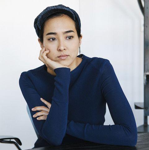 Nao Tamura who designed a booth at Design Miami.