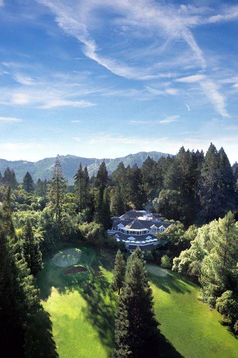 Natural landscape, Nature, Sky, Mountainous landforms, Blue, Mountain, Wilderness, Vegetation, Tree, Biome,