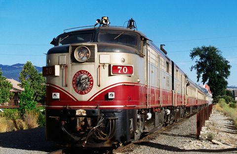 Napa Valley Wine Train, Napa Valley, California, United States of America, North America