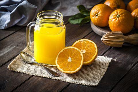 naranjada casera