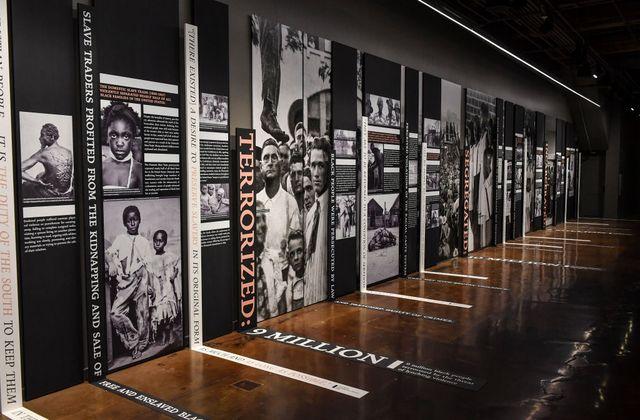 montgomery, al   april 19 a narrative display of racial injust