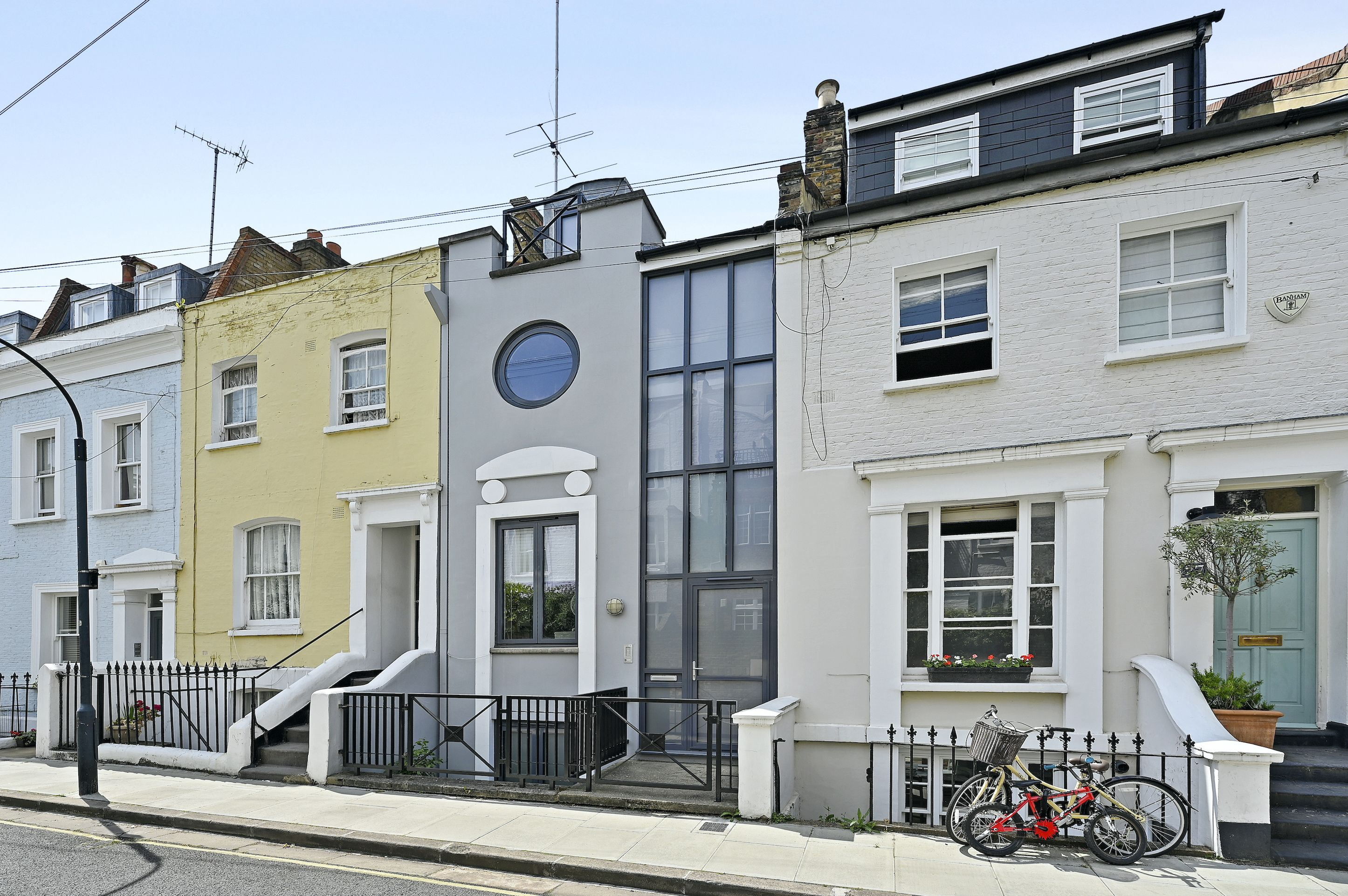 This narrow London home for sale is deceptively spacious
