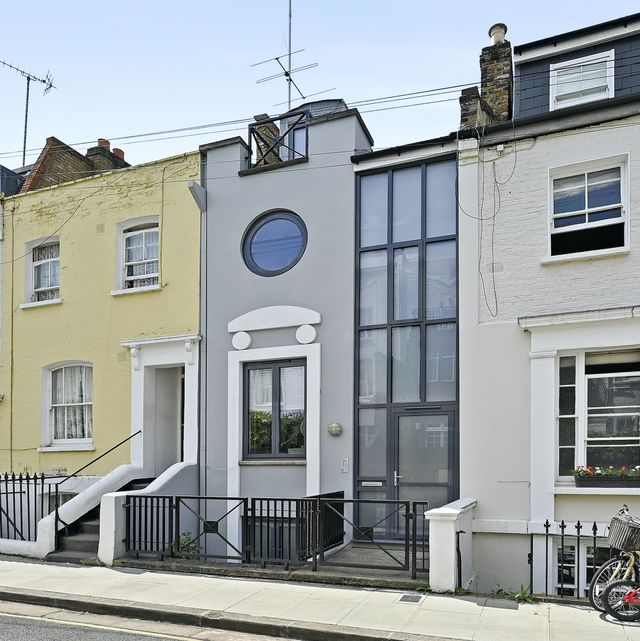 narrow london home with heaps of light for sale