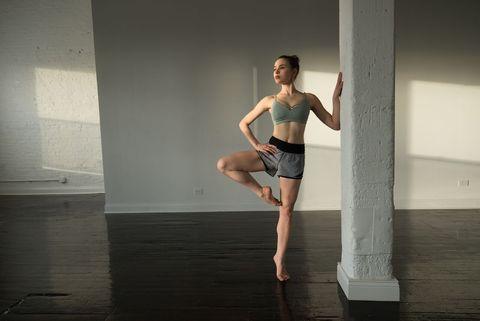 Sassy Gregson-Williams in ballet studio