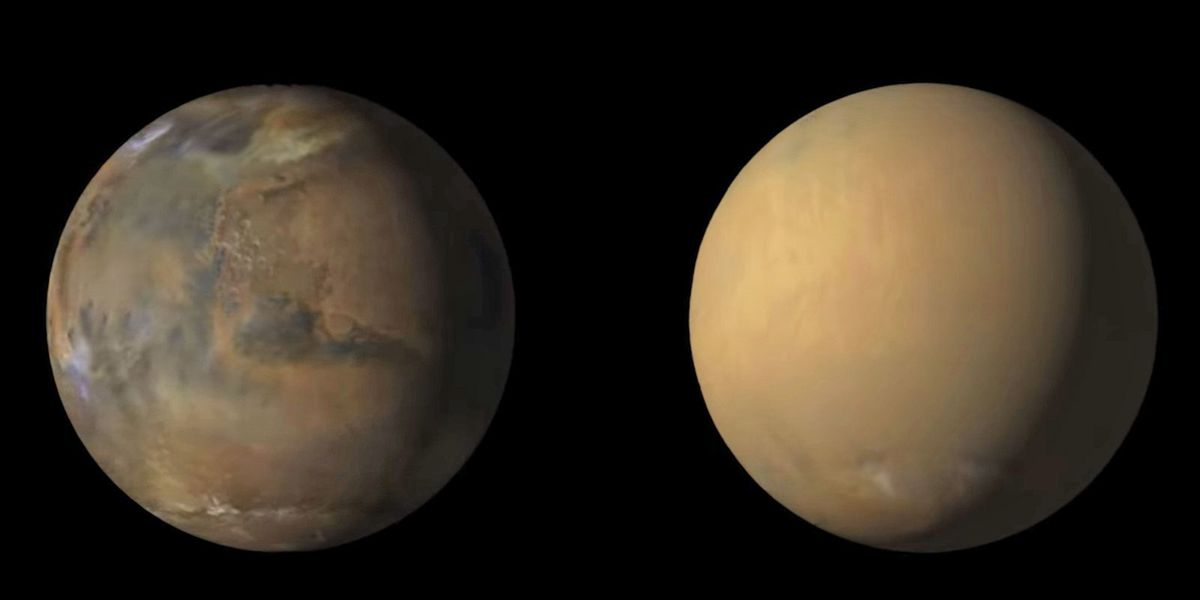 Image result for mars dust storm