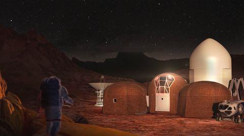 La NASA lo ha decidido La NASA ha decidido cómo serán las casas en Marte