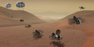 NASA misión titan luna de saturno busca origen vida