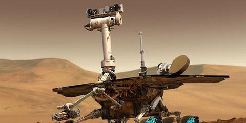 NASA Mars Exploration Rover Opportunity finishes a marathon